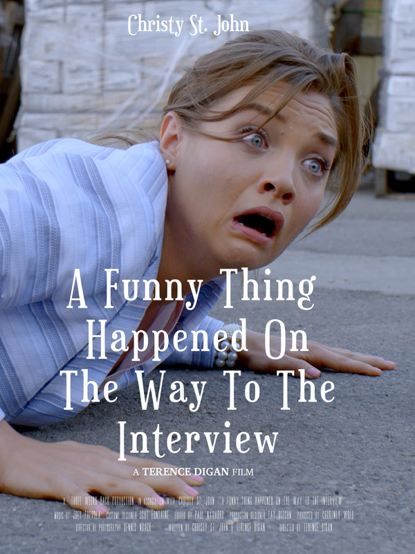 A Funny Thing Happened On The Way To The Interview - poster