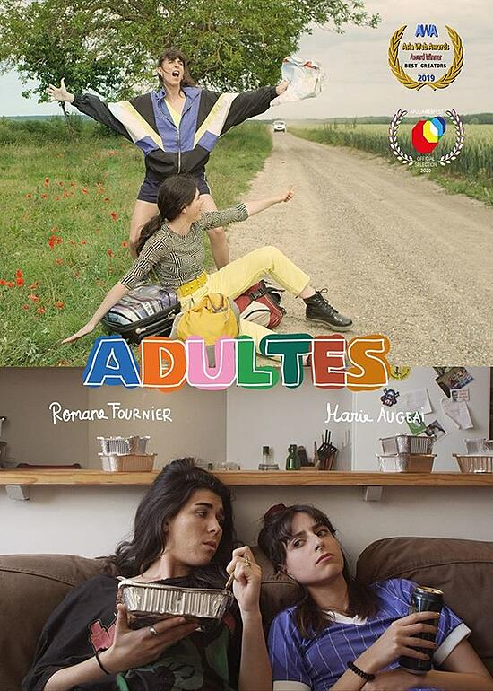 Adultes-poster
