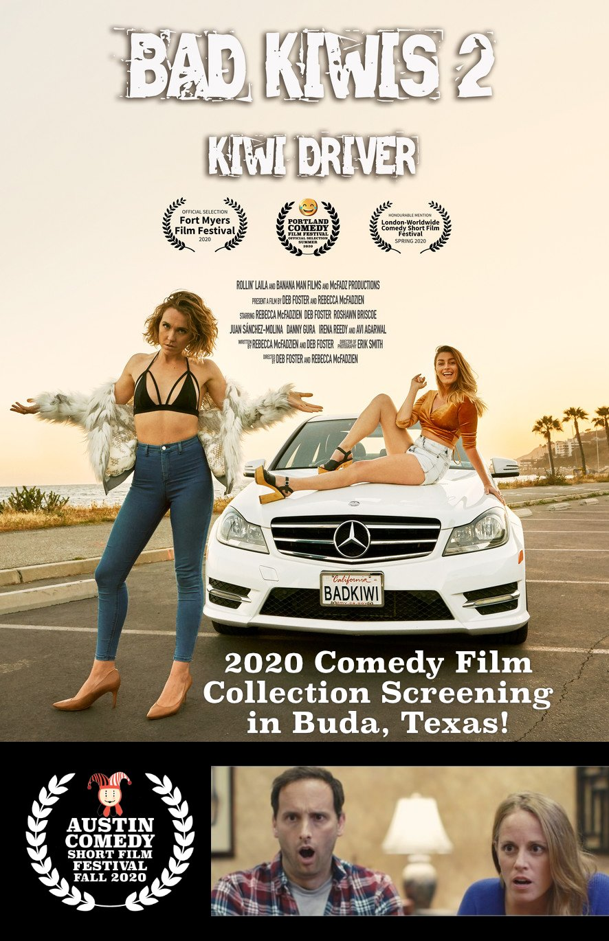 Austin Comedy Short Film Festival 2020 Docs Drive In Poster