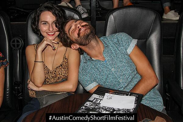 Austin Comedy Short Film Festival Fall 2018 Event Photo Wedding Crashers