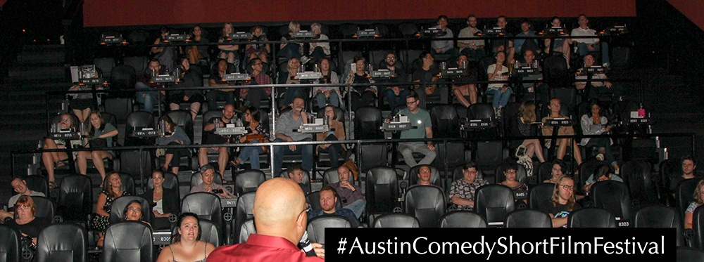 Austin Comedy Short Film Festival Fall 2018 Event Photo Alamo Drafthouse Cinema Lakeline