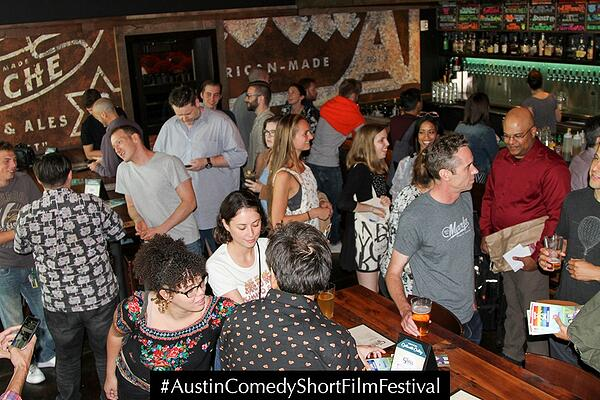 Austin Comedy Short Film Festival Fall 2018 Networking Event