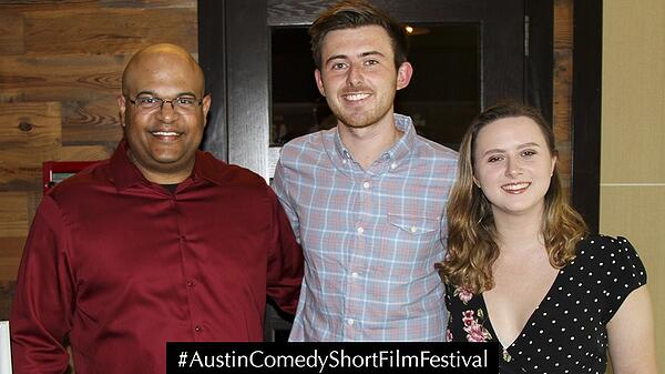 Austin Comedy Short Film Festival Fall 2018 Event Photo Blue Milk