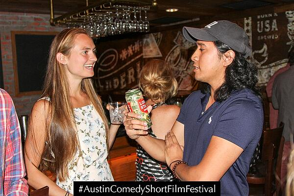 Austin Comedy Short Film Festival Fall 2018 Event Photo The Wedding Scene