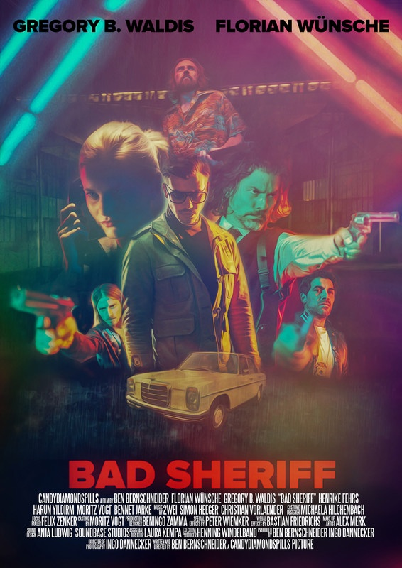 Bad Sheriff Poster Oregon Short Film Festival 2017