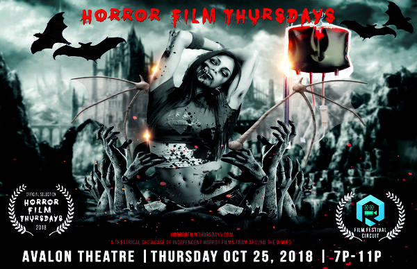 Horror Film Thursdays Avalon Flyer
