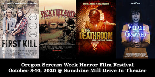 Oregon Scream Week Horror Film Festival Spring 2020 event