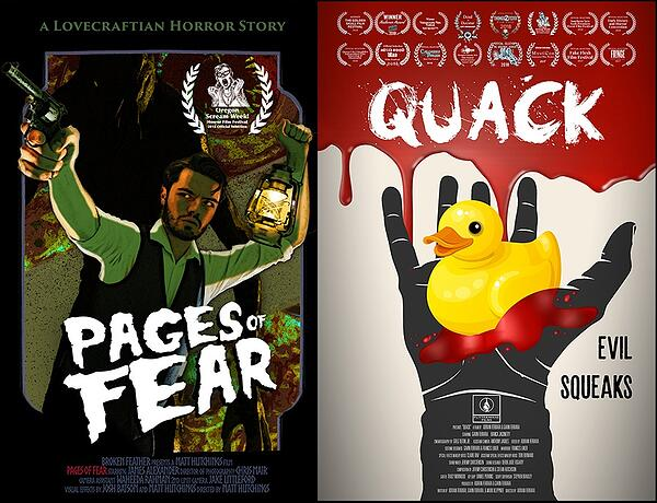 Pages Of Fear Quack