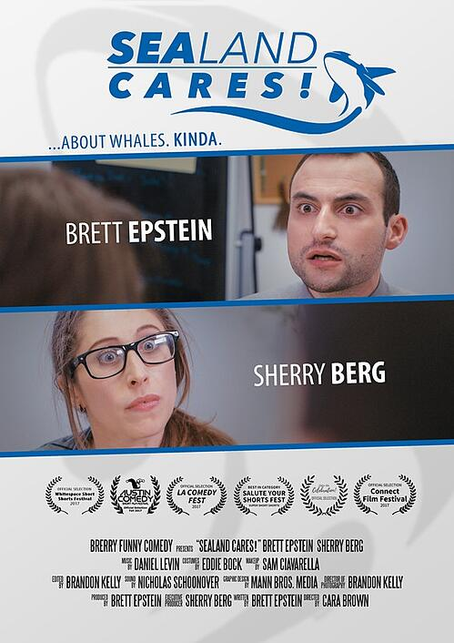 Sealand-Cares-Poster-Director-Cara-Brown-Sherry-Berg-Brett-Epstein-Austin-Comedy-Short-Film-Festival-Fall-2017