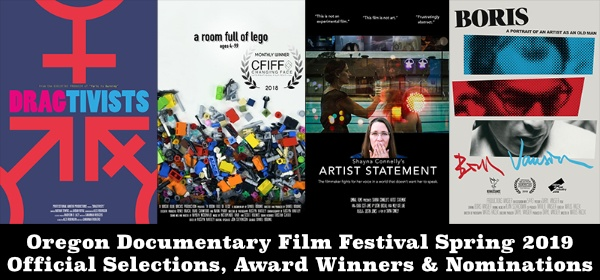 Oregon Documentary Film Festival 2019 Official Selection